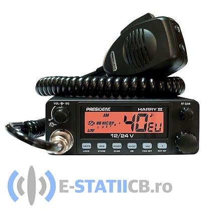 Statie Radio CB President Harry III ASC