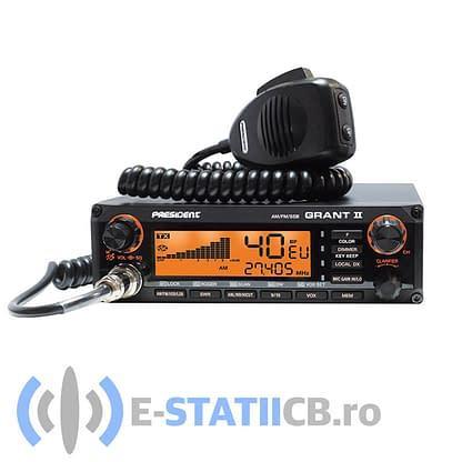 President Grant II ASC Statie Radio