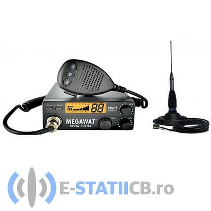 tatie radio CB Megavat Delta PK9100 + Antena ML145